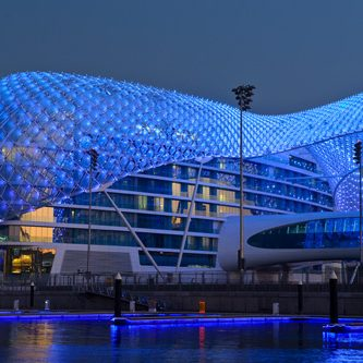 Yas Marina Hotel, Yas island, Abu Dhabi